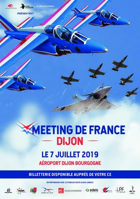 Dimanche 7 juillet Meeting Aérien de France sur l'aéroport