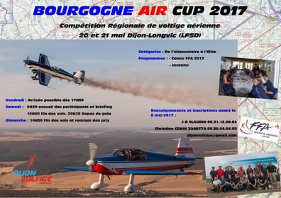 Bourgogne Air Cup 2017 les 20 et 21 mai 2017